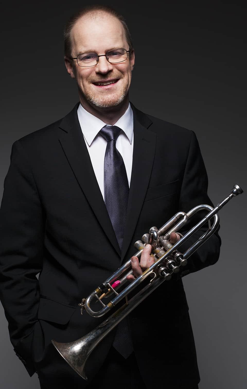David Glänneskog, trumpet (tjänstl.)