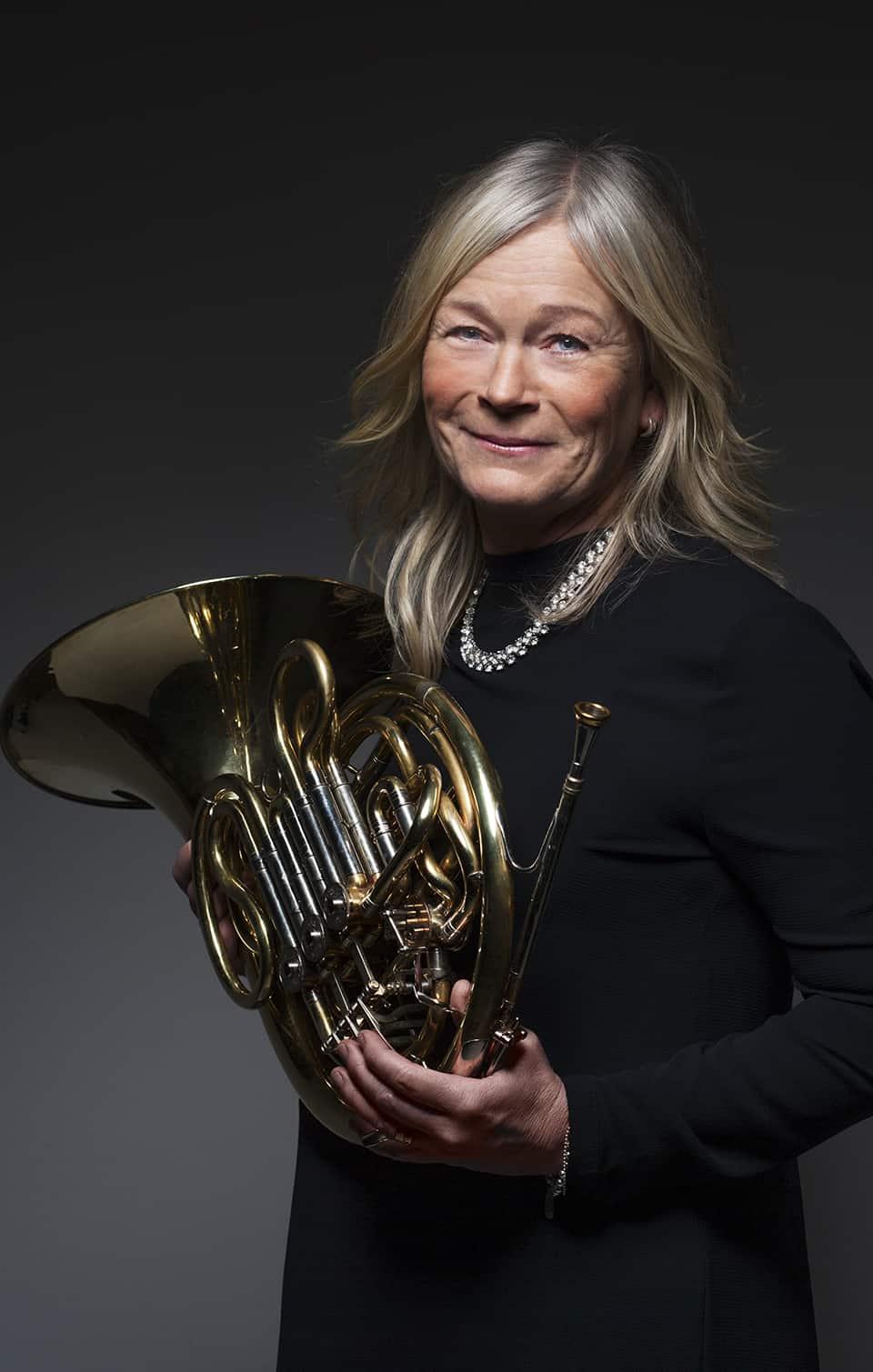 Eva Störholt, valthorn