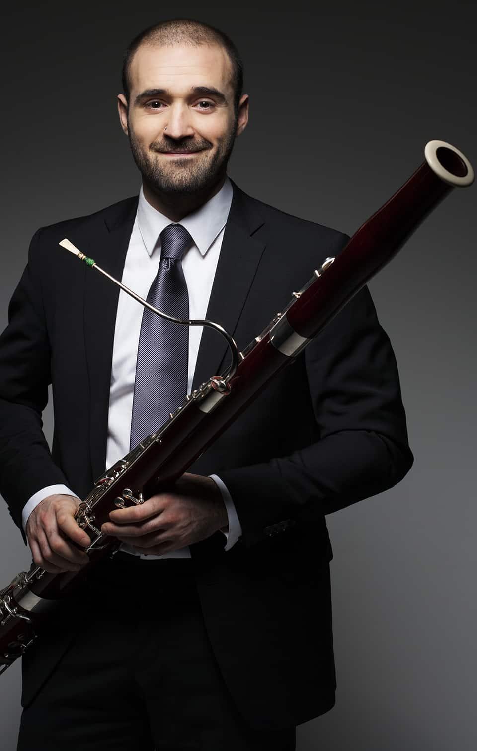 Mario Sáez López, fagott