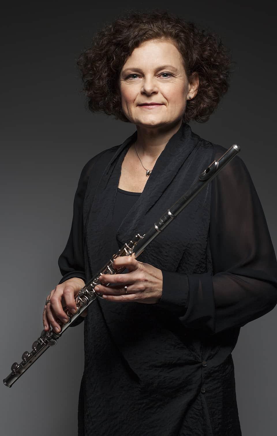 Mia Berg, flöjt