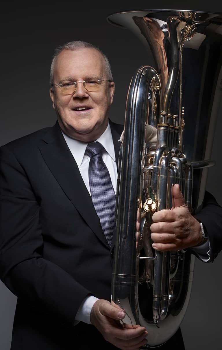 Neil A Baker, tuba