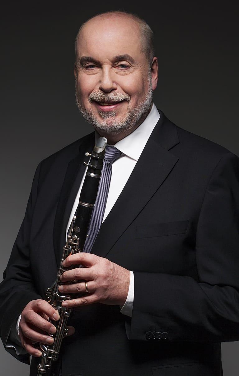 Sven Pettersson, klarinett